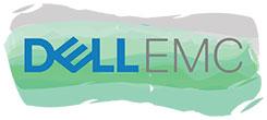 لوگو شرکت Dell EMC