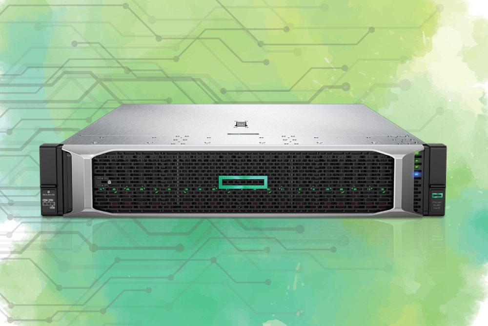 سامانه سبز رایان | samaneh sabz | بررسی سرور HP DL380 G10